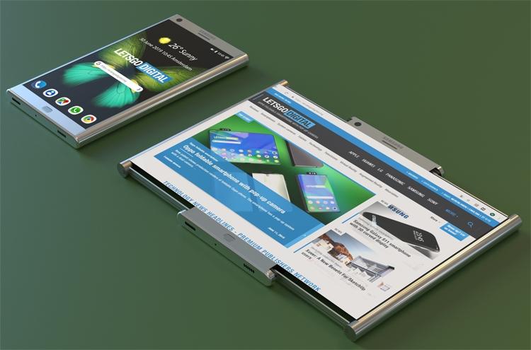 """У Samsung может появиться смартфон с экраном двойного растягивания"""""""