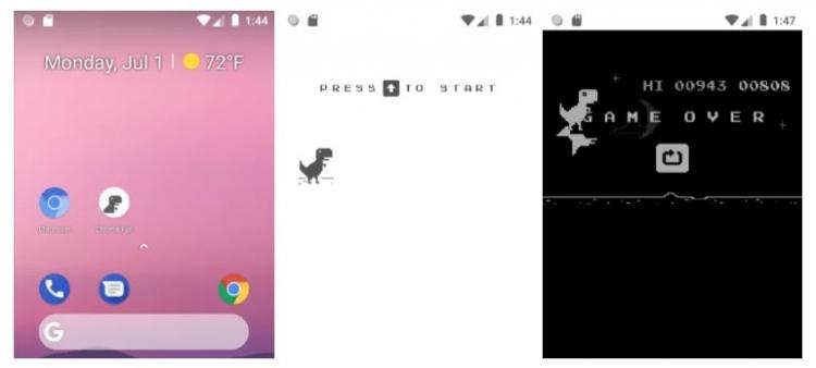 """Первые скриншотыChrome для кнопочных Android-телефонов"""""""