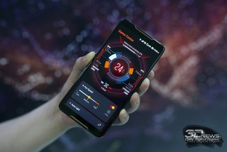 Игрофон ASUS ROG Phone 2 получит дисплей счастотой обновления 120 Гц