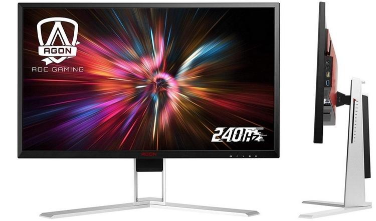 """AOC Agon AG251FZ2: ещё один игровой Full HD-монитор с частотой 240 Гц"""""""