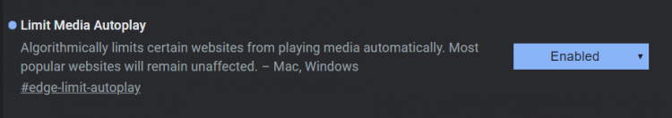 """ВMicrosoft Edge появился блокировщик автозапуска видео, а в Chrome— проверка правописания из Windows"""""""