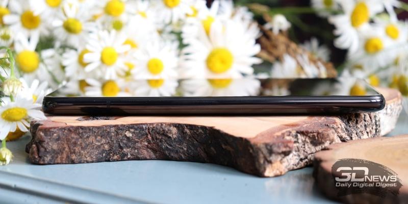 Xiaomi Mi 9T, левая грань свободна от функциональных элементов