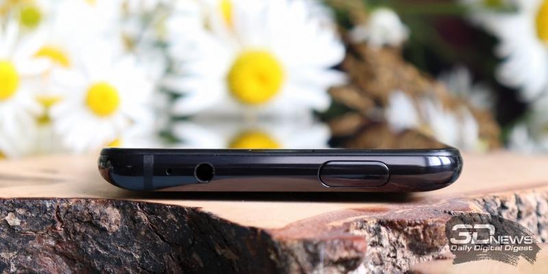 Xiaomi Mi 9T, верхняя грань: выдвижной блок фронтальной камеры с встроенным в его торец индикатором состояния, микрофон, аудиоразъем для наушников/гарнитуры