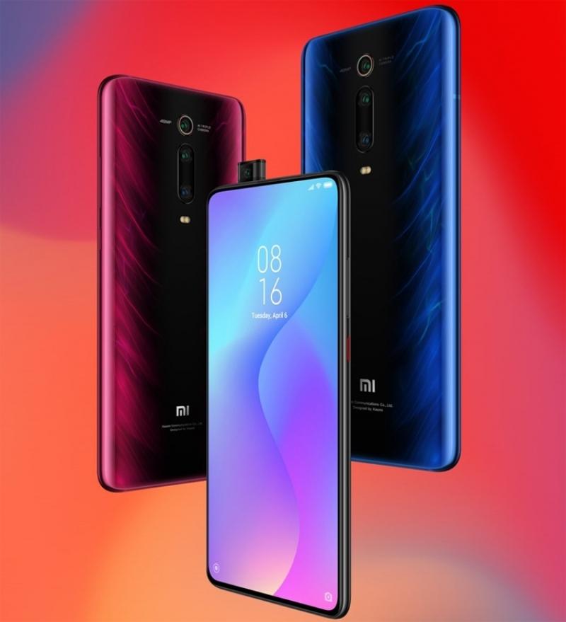 Xiaomi Mi 9T в голубом и красном исполнении