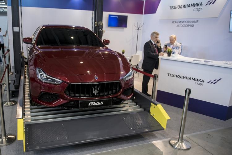 """Механизированный многоуровневый паркинг появится в Москве в 2020 году"""""""