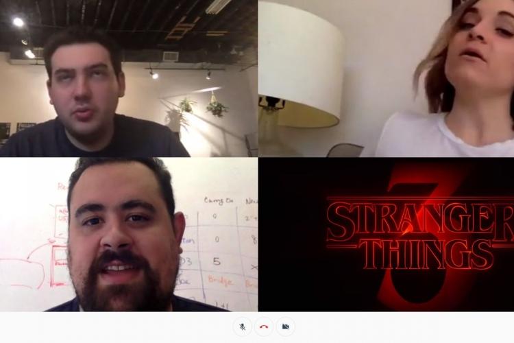 """С помощьюNetflix Hangouts можно смотреть«Очень странные дела» и «Ведьмака» прямо на рабочем месте"""""""