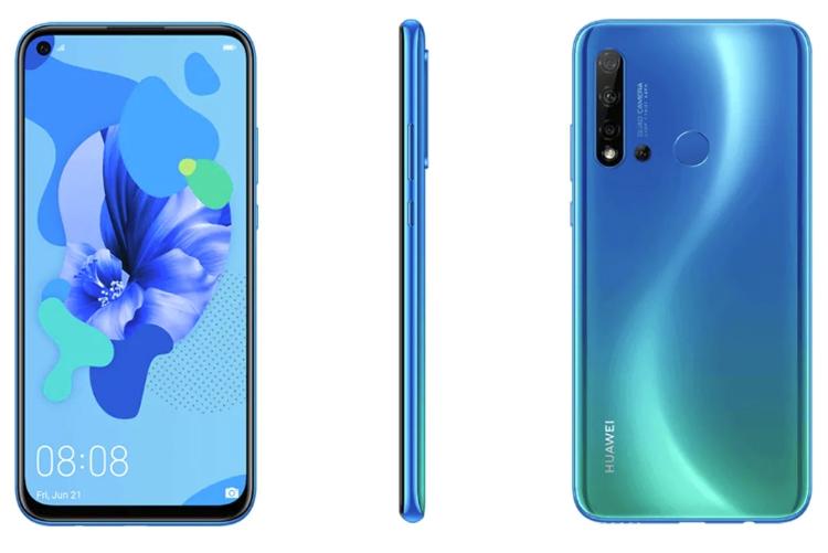 """Смартфон Huawei Nova 5i Pro получит экран Full HD+ и квадрокамеру"""""""