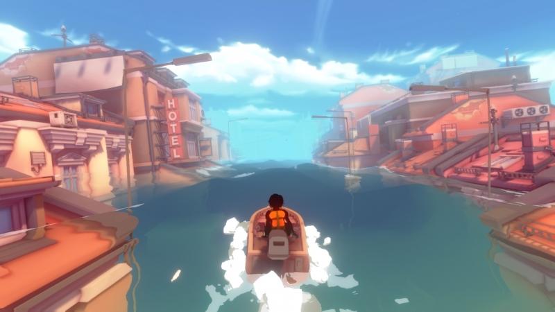 Лодка — одно из немногих мест, где можно спастись от негативных мыслей