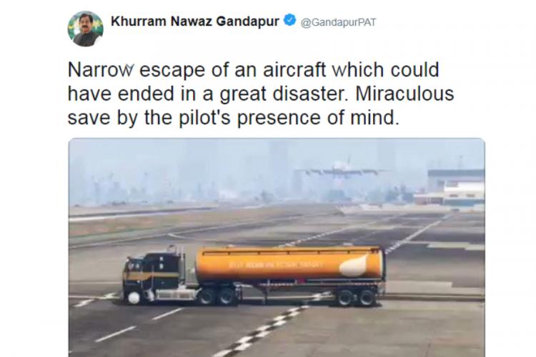 """Пакистанский политик принял клип из GTA V за реальность и написал об этом в Twitter"""""""