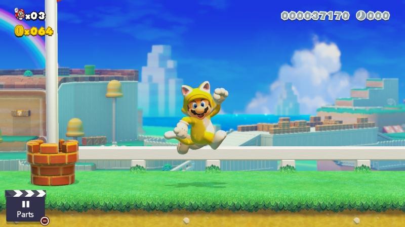 Марио-кот выглядит, хм, странно