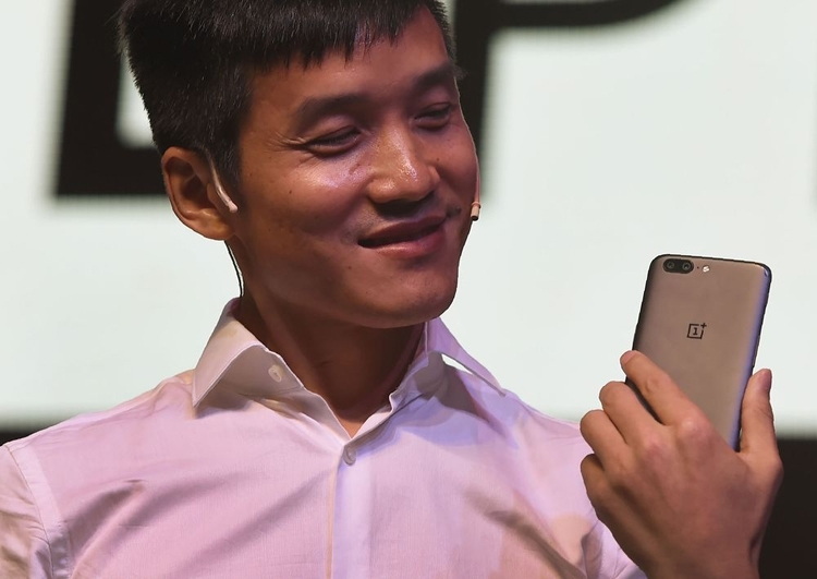 Исполнительный директор OnePlus Пит Ло (Punit Paranjpe/AFP)