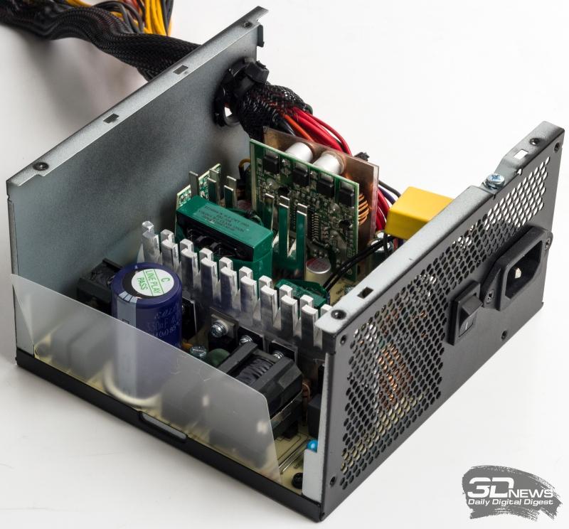 Блок питания Chieftec BBS-600S: «золото» для каждого