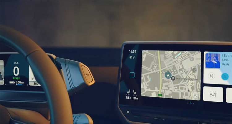 "Рассекречен кокпит электрокара Volkswagen ID.3"""