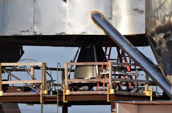 """SpaceX проведёт испытания тестовой ракеты Starhopper в режиме висения"""""""