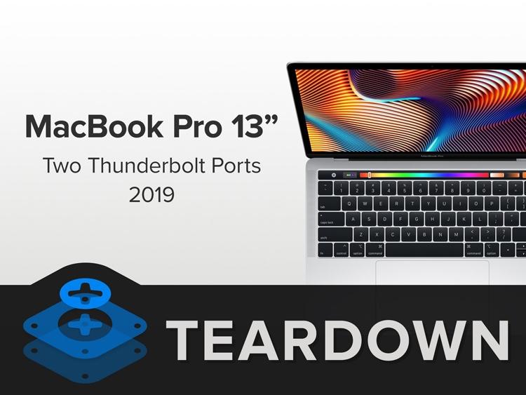 """Новый ноутбук MacBook Pro 13"""" починить вряд ли удастся"""""""