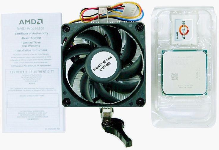 """В роли подменного процессора при трудностях с обновлением BIOS теперь выступает Athlon 200GE"""""""