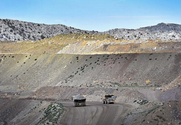 Разработка Mountain Pass по добыче руды с редкоземельными металлами в Калифорнии (REUTERS/David Becker)