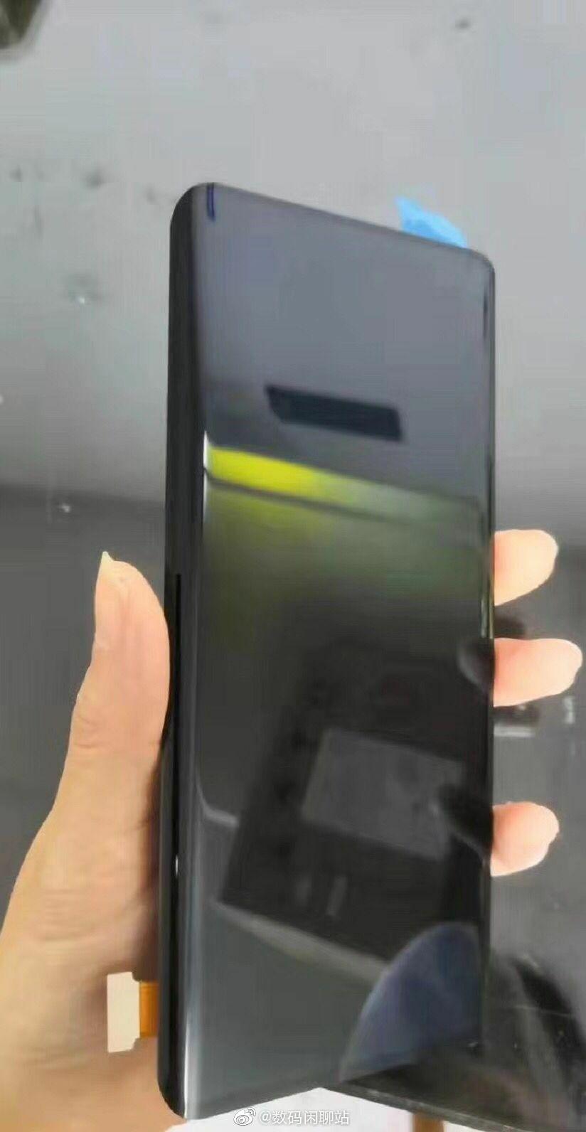 """Новые утечки подтверждает изогнутый дисплей Huawei Mate 30 Pro и наличие выреза"""""""