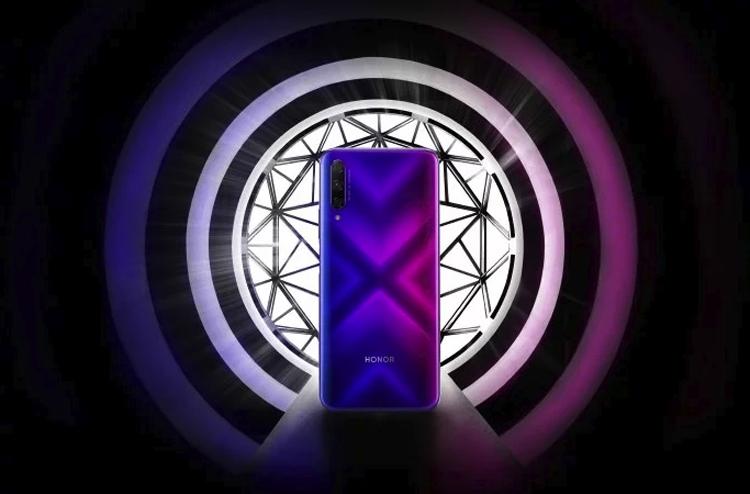 """Смартфон Honor 9X Pro в градиентной окраске показался на промо-изображении"""""""