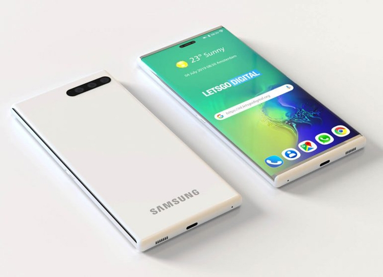 """Смартфон Samsung Galaxy S11 может получить раздвижной корпус"""""""