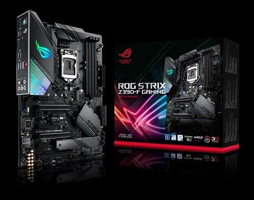 Игровая материнская плата ASUS ROG STRIX Z390-F GAMING