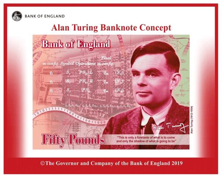 """Банк Англии выпустит банкноты с портретом Алана Тьюринга"""""""