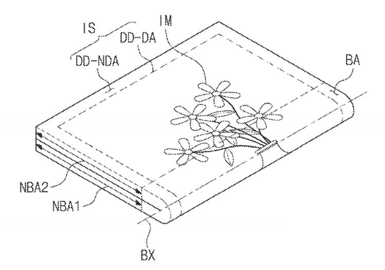"""В Samsung запатентовали очередное устройство с гибким дисплеем"""""""