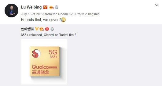 """Смартфоны Redmi и Realme со Snapdragon 855+ могут появиться в ближайшее время"""""""