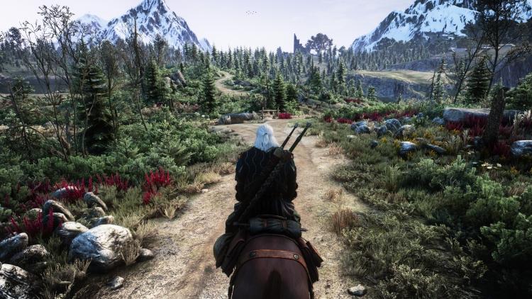"""Для The Witcher 3: Wild Hunt вышла модификация с трассировкой лучей и улучшенным сглаживанием"""""""