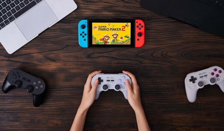 8BitDo Pro+ — продвинутый контроллер для Nintendo Switch, ПК и Android с тонкой настройкой