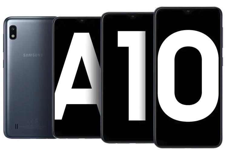 Смартфон Samsung Galaxy A10s получит три камеры и батарею на 4000 мА·ч