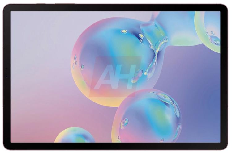 "Samsung Galaxy Tab S6: флагманский планшет показался на пресс-рендерах"""