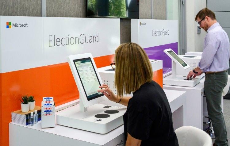 """Microsoft показала безопасную систему для голосования ElectionGuard"""""""