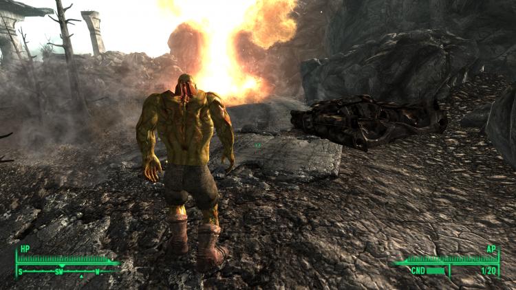 Новый виток эволюции: мод для Fallout 3, позволяющий превратиться в супермутанта