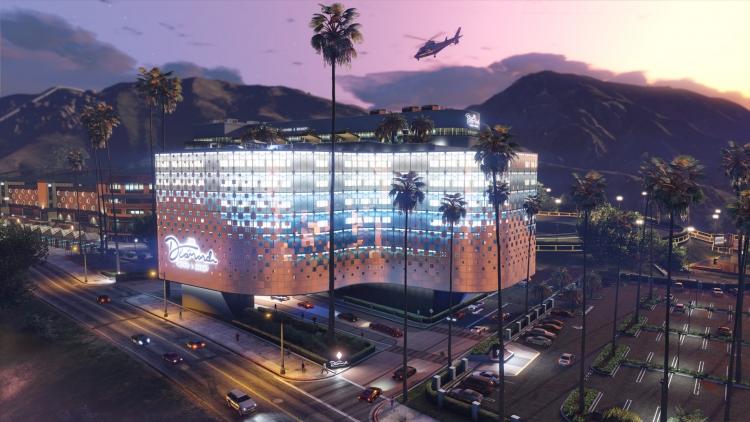 """Казино-отель в GTA Online откроет свои двери уже во вторник"""""""