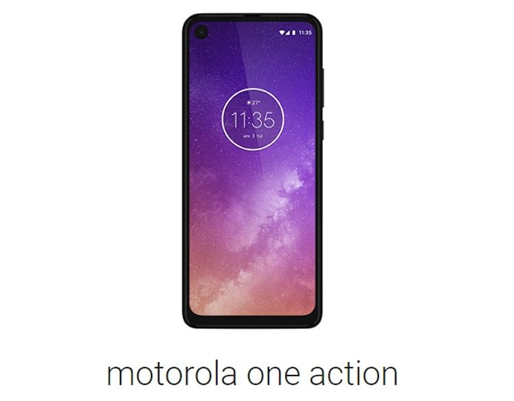 Обнародованы характеристики смартфона Motorola One Action