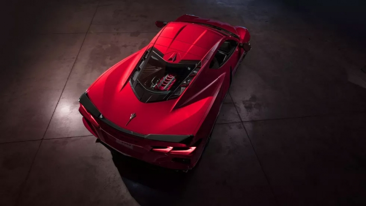 """Chevrolet Corvette C8 может стать полноприводным гибридом"""""""