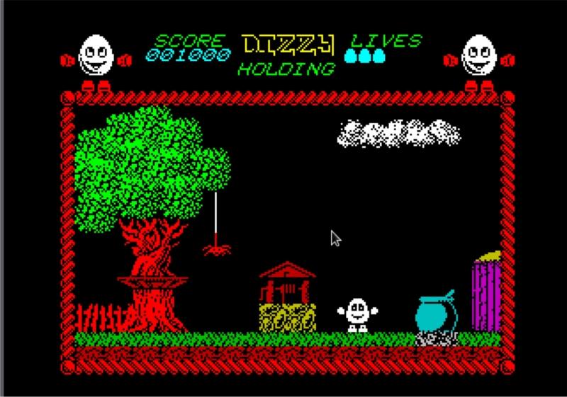 Все решения в играх о Dizzy лежали на поверхности. Но логику, пусть и ненадолго, включать стоило