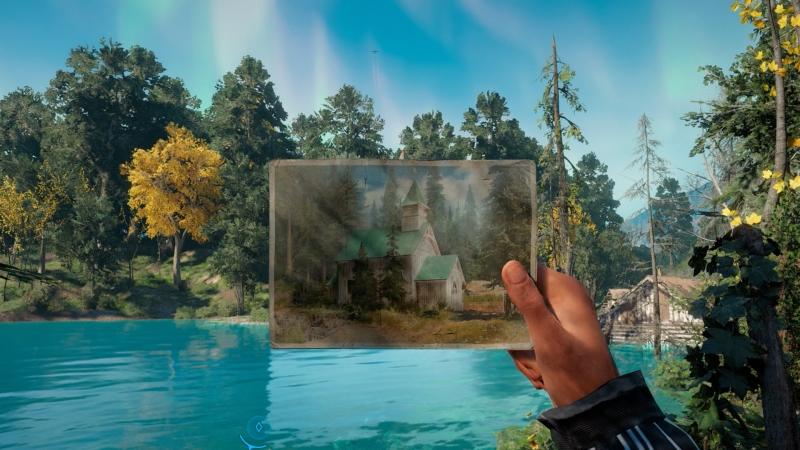 А еще в Far Cry: New Dawn были интересные задачки с поиском места довоенной фотосессии