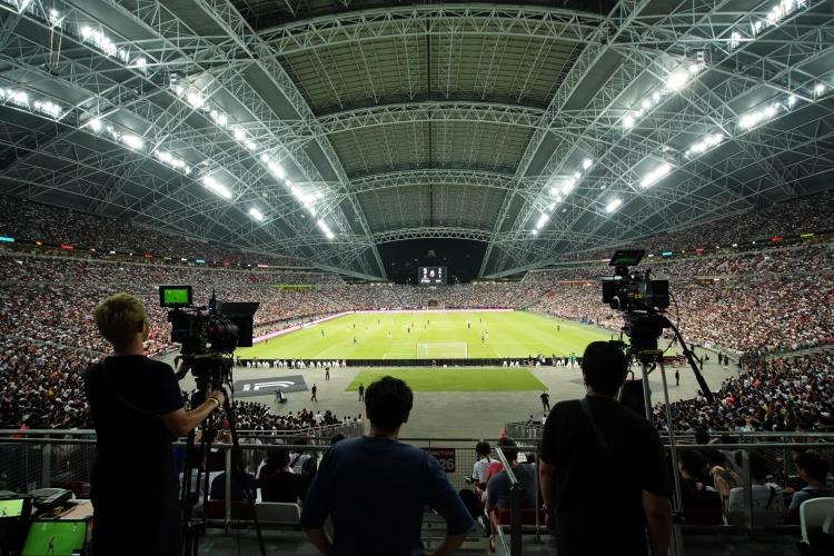 """Samsung использовала 8K-камеры для записи футбольных матчей"""""""