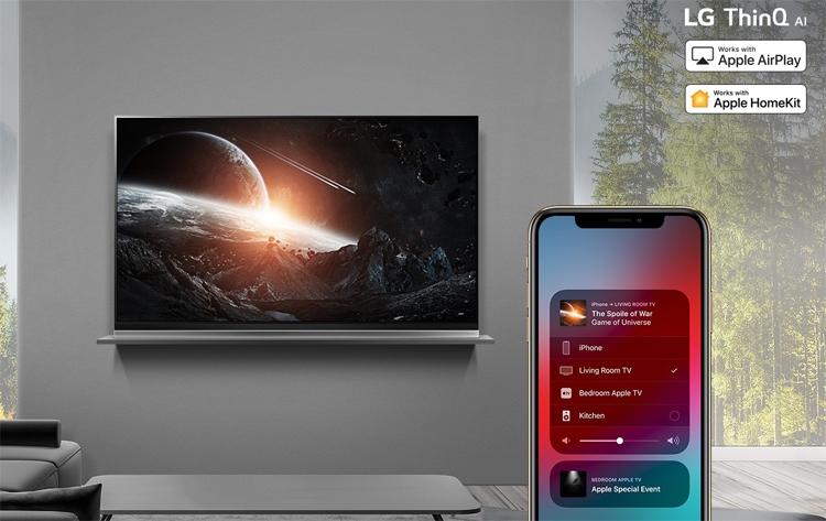 """Смарт-телевизоры LG получат поддержку Apple AirPlay 2 и HomeKit"""""""