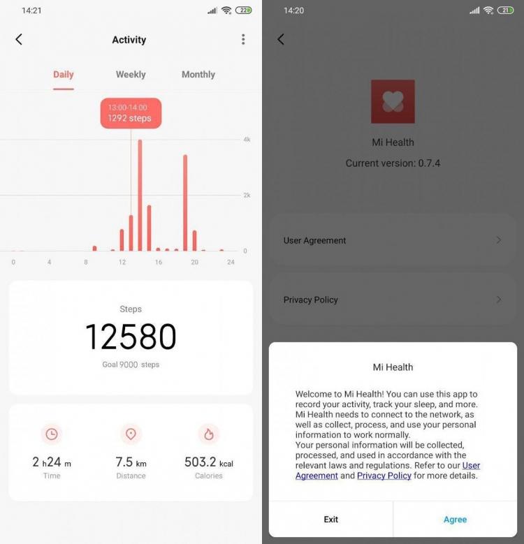 """Xiaomi делает акцент на здоровье в новом фитнес-приложении Mi Health"""""""