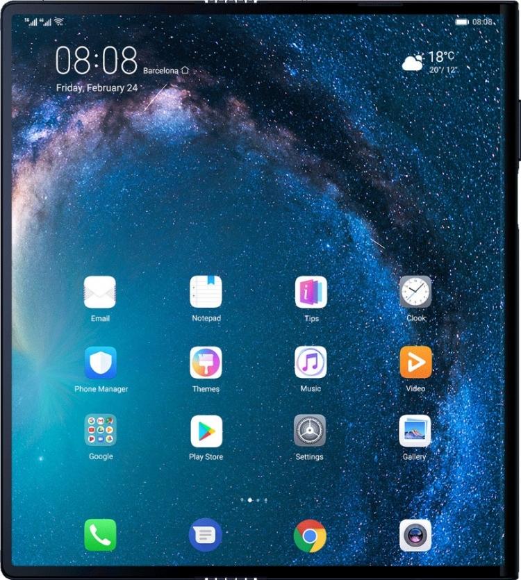 """Руководитель Huawei замечен со складным смартфоном Mate X"""""""