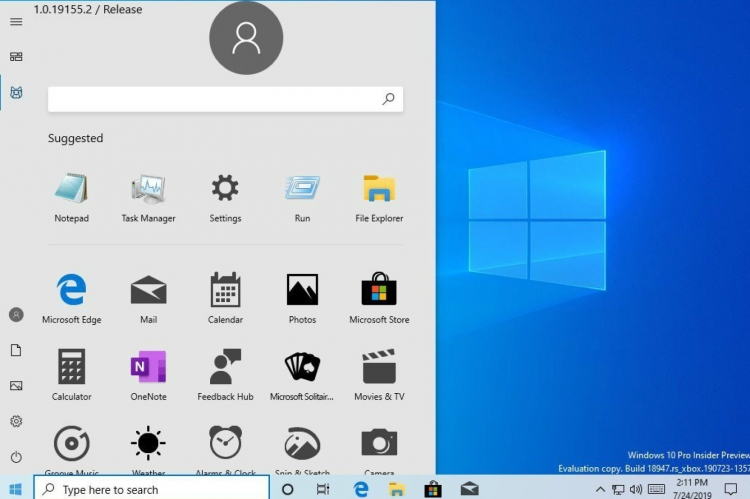"""Microsoft неожиданно показала новое меню «Пуск» в Windows 10"""""""