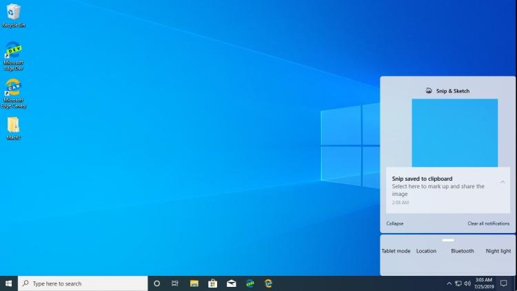 """Не«Пуском» единым— в Windows 10 (18947) обнаружился новый дизайн Центра управления"""""""