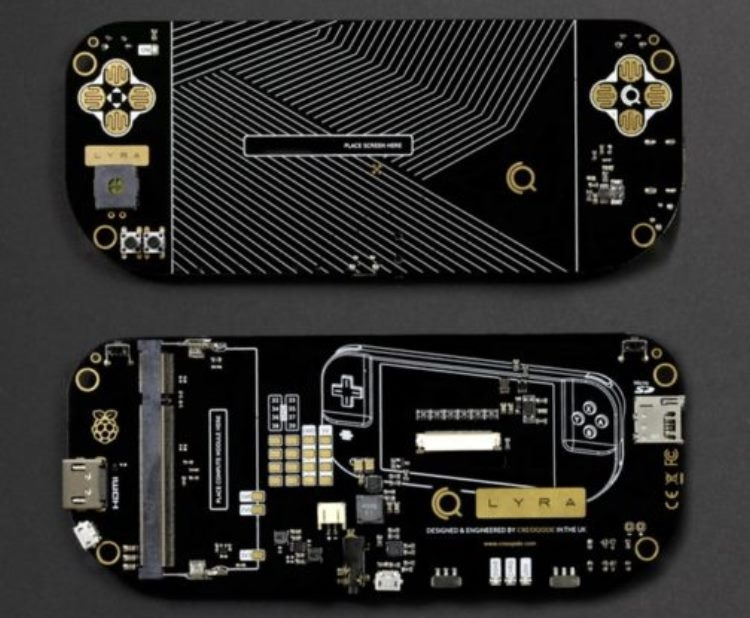 """LyRa: портативная игровая консоль на базе Raspberry Pi CM3L"""""""