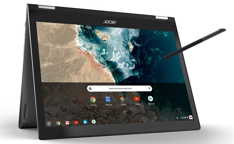 """Новый ноутбук Acer Chromebook Spin 13 получил чип Core i7 и 16 Гбайт ОЗУ"""""""