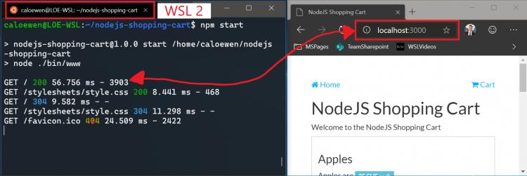 """ВWSL 2 дляWindows 10 (18945) появился доступ кlocalhost и поддержка сторонних ядер"""""""