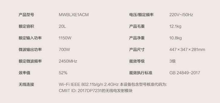 "Xiaomi представила микроволновку Mijia за  $60 для умного дома"""