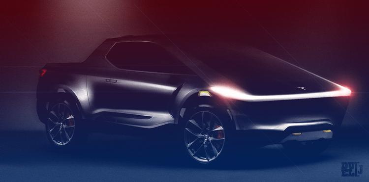 """Электрический пикап Tesla может быть представлен через 2-3 месяца"""""""
